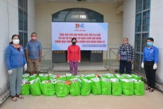 Chung tay hỗ trợ người nghèo trong mùa dịch