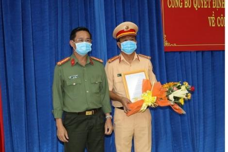 Bổ nhiệm Trưởng CATP.Tây Ninh và Giám thị Trại Tạm giam CATN