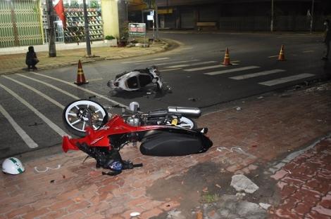 Đi không đúng phần đường gây tai nạn giao thông