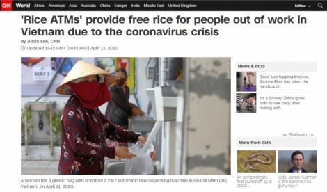 Báo chí thế giới: ATM gạo Việt Nam – quá khó tin, nhưng là sự thật