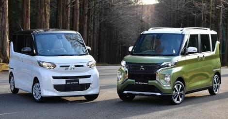 Bộ đôi Mitsubishi 'vô địch chiều cao' dòng kei-car