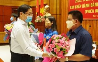Hội nghị Ban Chấp hành Đảng bộ tỉnh lần thứ 55