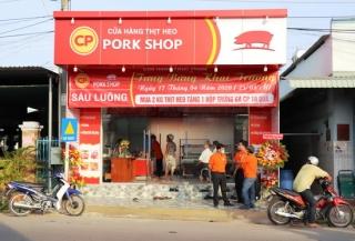 Công ty Cổ phần CP Việt Nam mở rộng chuỗi cửa hàng bán lẻ bình ổn giá thịt heo