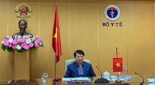 Việt Nam chia sẻ kinh nghiệm ứng phó Covid-19 tại cuộc họp trực tuyến Bộ trưởng Y tế G20