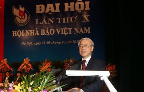 Thư của Tổng Bí thư, Chủ tịch nước chúc mừng 70 năm thành lập Hội Nhà báo Việt Nam