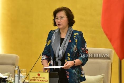 Chủ tịch Quốc hội đề nghị rút kinh nghiệm việc chuẩn bị tài liệu phục vụ phiên họp