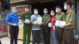 Tuổi trẻ Công an Tây Ninh tích cực tham gia phòng, chống dịch Covid 19