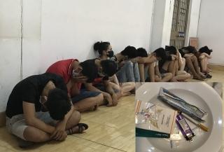 Bắt quả tang nhóm thanh niên vào khách sạn sử dụng ma túy