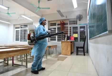 Bộ Y tế hướng dẫn cách khử khuẩn trường học chống Covid-19