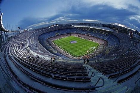 Barca lần đầu bán tên sân Camp Nou