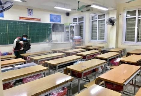 Khó xoay xở để bố trí học sinh ngồi học cách nhau tối thiểu 1,5m
