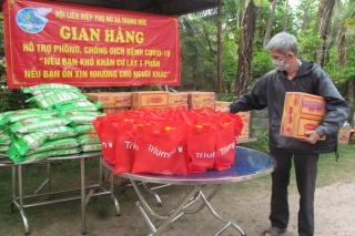 Hội LHPN xã Thạnh Đức: Hỗ trợ người dân khó khăn trong mùa dịch