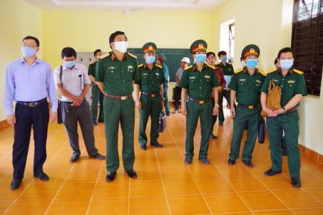 Quân khu 7: Nghiệm thu, đưa vào sử dụng Doanh trại Đại đội 19 Hóa học tại Sư đoàn 5
