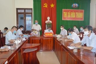 HĐND thị xã Hòa Thành giám sát đào tạo nghề lao động nông thôn