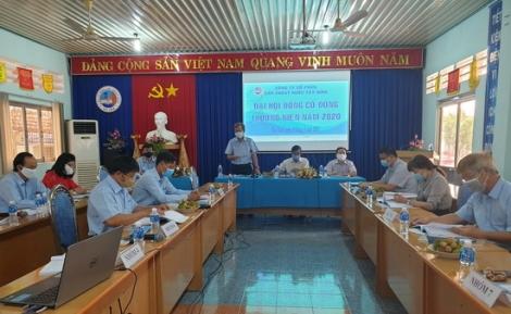 Đại hội Cổ đông thường niên Công ty CP Cấp thoát nước Tây Ninh.