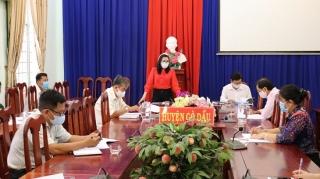 Ngân hàng CSXH Gò Dầu sơ kết hoạt động quý I.2020