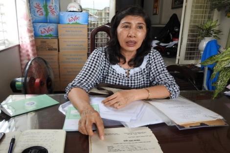 Một giáo viên khiếu nại về chế độ bảo hiểm xã hội