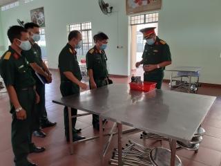 Quân khu 7: Kiểm tra công tác hậu cần tại Trung đoàn 174