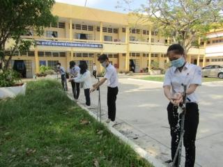 Chia đôi học sinh trong một lớp để phòng, chống dịch