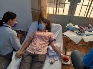 Huyện Dương Minh Châu tổ chức đợt hiến máu lần III.2020