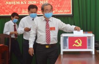 Đại hội Chi bộ Văn phòng Thị ủy Hòa Thành, nhiệm kỳ 2020 - 2025