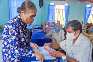 Trảng Bàng: Triển khai chính sách hỗ trợ người dân gặp khó khăn do dịch Covid - 19