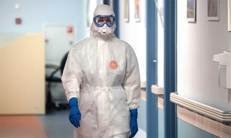 Ca nhiễm mới nCoV Nga cao kỷ lục