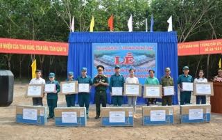 Tân Châu: Khánh thành điểm dân cư liền kề Chốt dân quân Bàu Sen