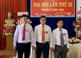 Chi bộ BQL dự án đầu tư xây dựng TP.Tây Ninh tổ chức Đại hội lần thứ III, nhiệm kỳ 2020-2025