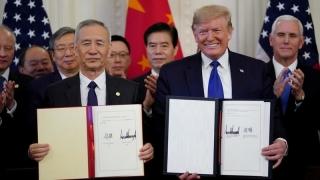 Mỹ, Trung Quốc thúc đẩy thực hiện thỏa thuận thương mại giai đoạn 1