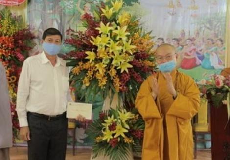 Ban Trị sự GHPGVN tỉnh Tây Ninh tổ chức Đại lễ Phật Đản năm 2020 - Phật lịch 2564