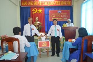 Đại hội Chi bộ Hội Cựu chiến binh – Liên đoàn lao động thị xã Hòa Thành nhiệm kỳ 2020 – 2025