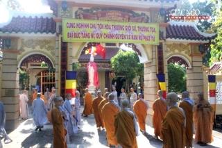 BTS tỉnh Tây Ninh sẽ tổ chức Đại giới đàn Tâm Hòa IX