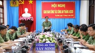 Hội nghị giao ban công tác tháng 4.2020