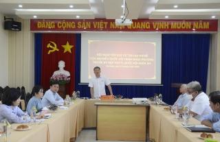 ĐBQH Trịnh Ngọc Phương tiếp xúc cử tri chuyên đề lĩnh vực xây dựng và đầu tư