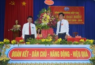 Đại hội Đảng bộ phường Hiệp Tân - Thị xã Hòa Thành