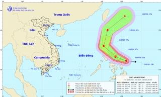Chỉ số tia UV rất cao, xuất hiện bão Vongfong giật cấp 14
