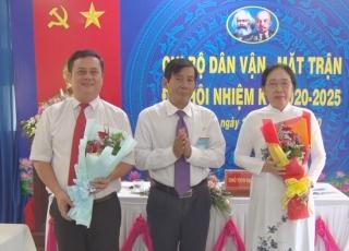 Đại hội Chi bộ Dân vận- Mặt trận huyện Tân Biên nhiệm kỳ 2020- 2025