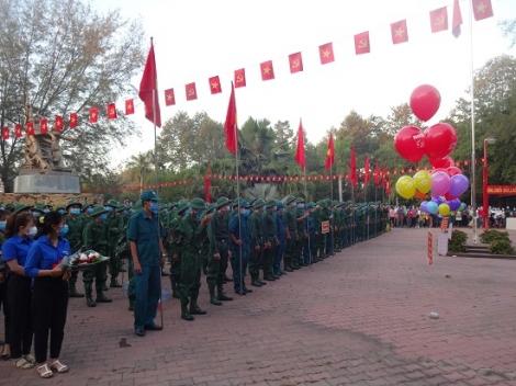 Khởi công nâng cấp, mở rộng Khu căn cứ lõm vùng ruột huyện Gò Dầu