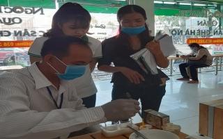 TP.Tây Ninh: Tiếp tục kiểm tra vệ sinh thực phẩm trên địa bàn phường 3