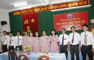 Đại hội Đảng bộ Sở Nội vụ tỉnh Tây Ninh nhiệm kỳ 2020 - 2025