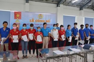 Thành lập công đoàn cơ sở Công ty TNHH Lu Thai
