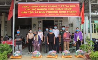TP.Tây Ninh: Vận động hơn 1,5 tỷ đồng hỗ trợ người dân phòng, chống dịch bệnh Covid-19