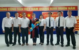 TAND thành phố Tây Ninh trao quyết định bổ nhiệm Thẩm phán