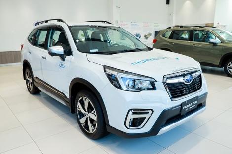 Subaru - hãng xe của công nghệ an toàn