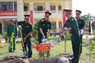 Sư đoàn 5: Phát động trồng cây nhân kỷ niệm ngày sinh của Bác Hồ