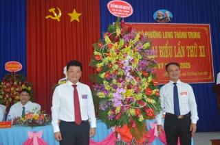 Đại hội Đảng bộ phường Long Thành Trung – Thị xã Hòa Thành