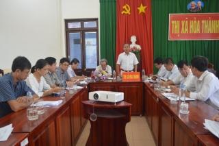 Hoà Thành: Họp triển khai công tác chuẩn bị kỳ họp thứ 15 HĐND thị xã