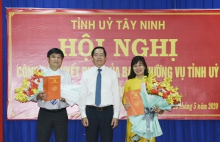Dương Minh Châu có Bí thư Huyện ủy mới