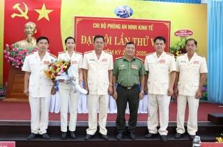 Phòng An Ninh Kinh Tế Công an Tây Ninh đại hội chi bộ lần thứ VIII, nhiệm kỳ 2020 - 2025